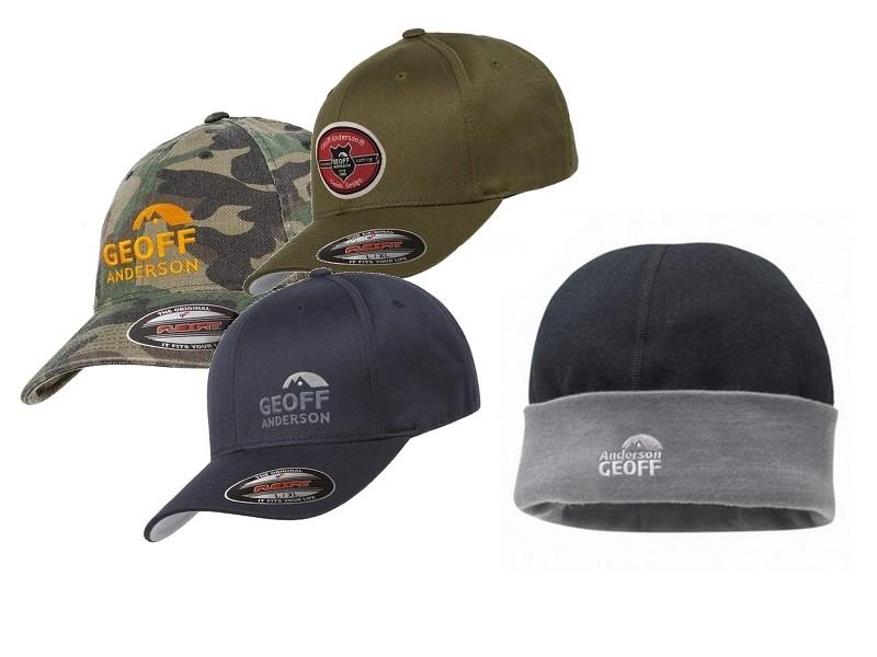 Geoff Anderson hatte og caps