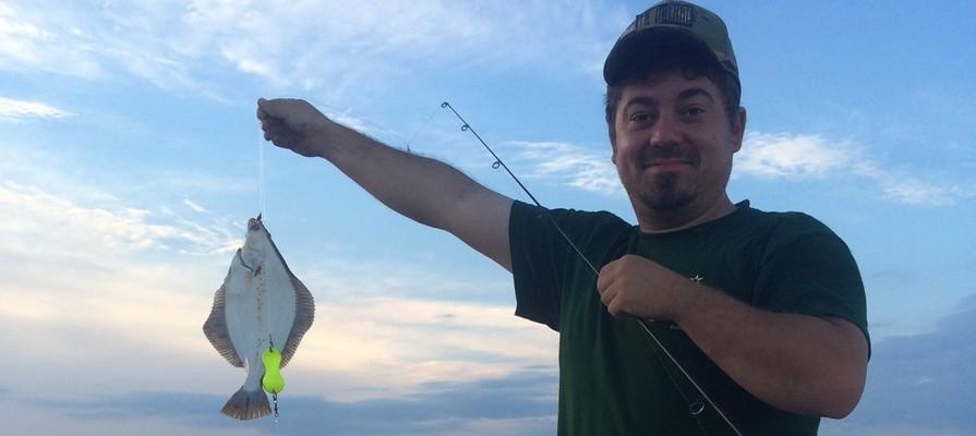 Fang en fladfisk