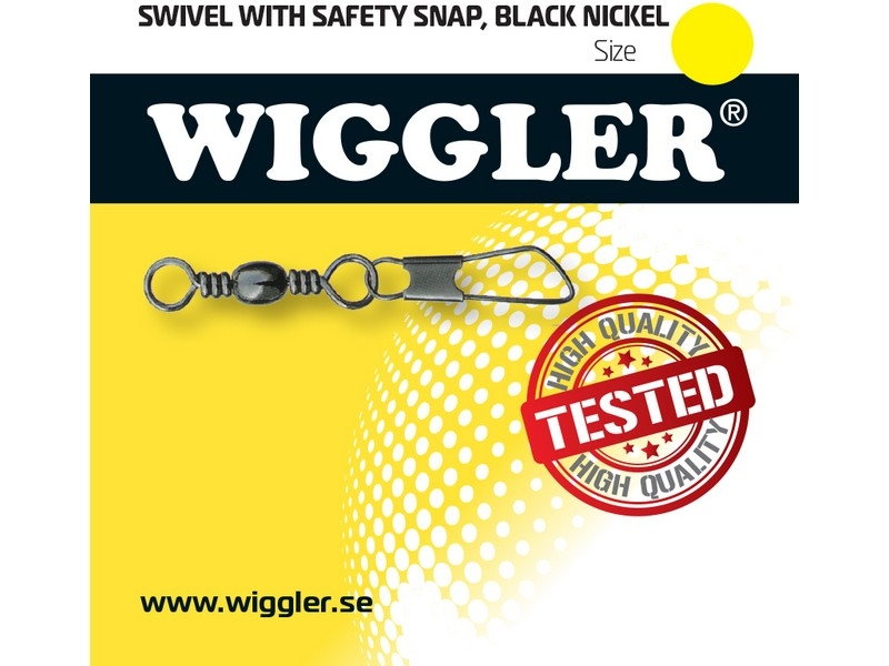 Image of   Wiggler Swivel w/ safety Snap