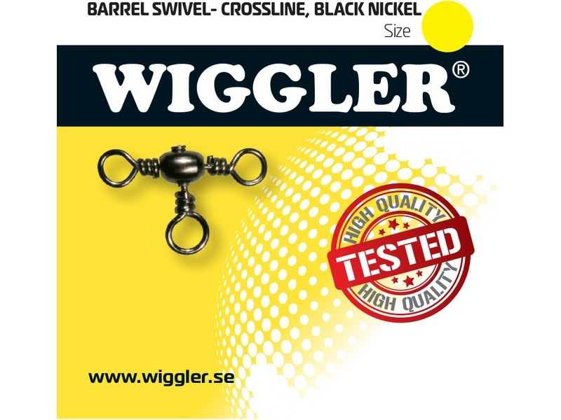 Image of   Wiggler Barrel Swivel Crossline - tregangssvirvel