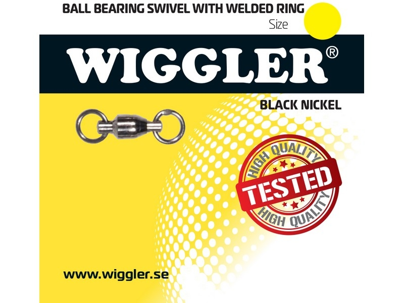 Image of   Wiggler Ball Bearing Swivel - kuglelejesvirvel