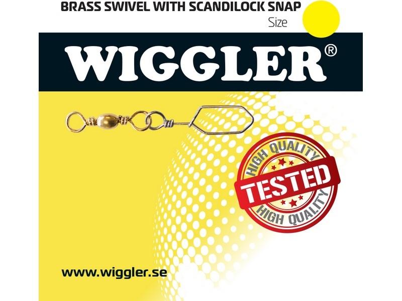 Image of   Wiggler Brass Swivel with Scandilock Snap