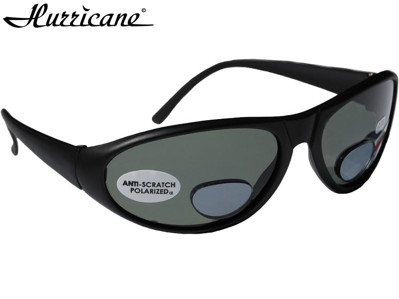 Hurricane Polaroidbrille m/styrke-Styrke +3,0 - Default Category