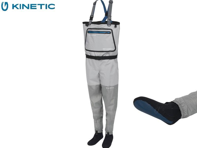 Kinetic DryGaiter II Stockingfoot-ML Grey Hawk - Default Category
