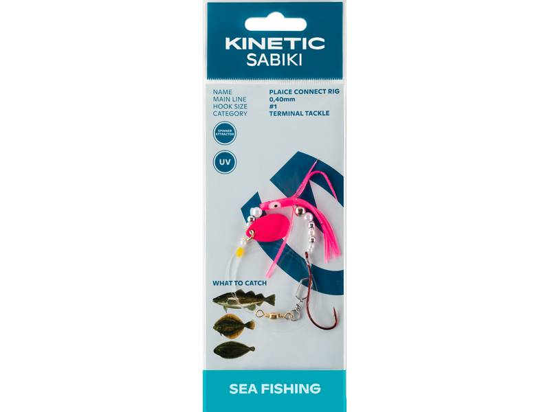 Kinetic Sabiki Plaice Connect Rig