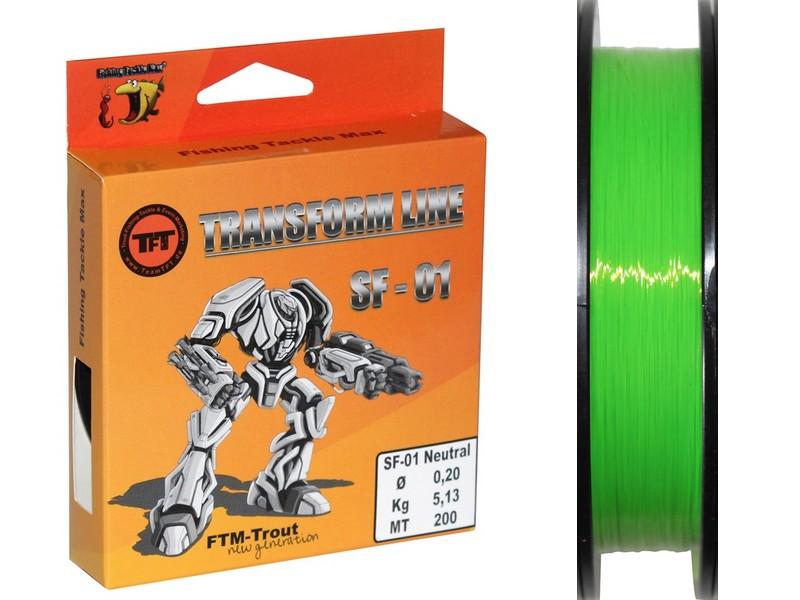 TFT Transform Line-Fluo Green-0,18mm - Default Category