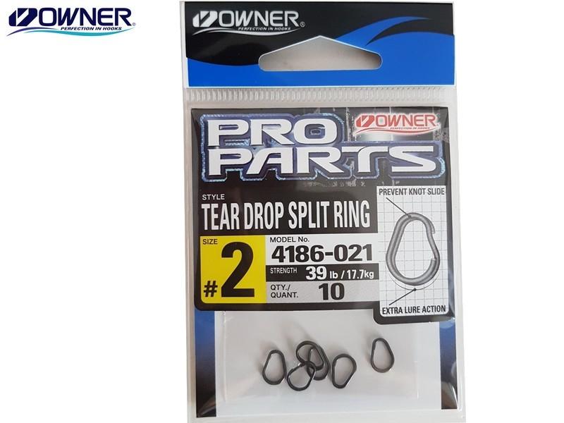 Image of   Owner Tear Drop springring