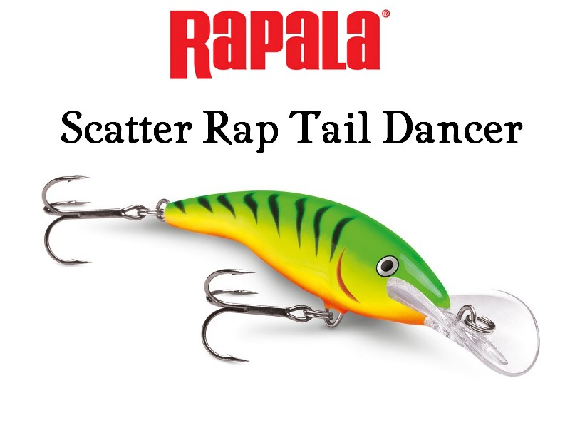 Image of   Rapala Scatter Rap Tail Dancer