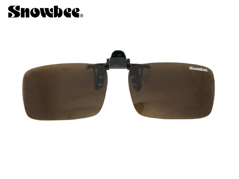 Snowbee Clip-On solbrille (polaroid) Amber
