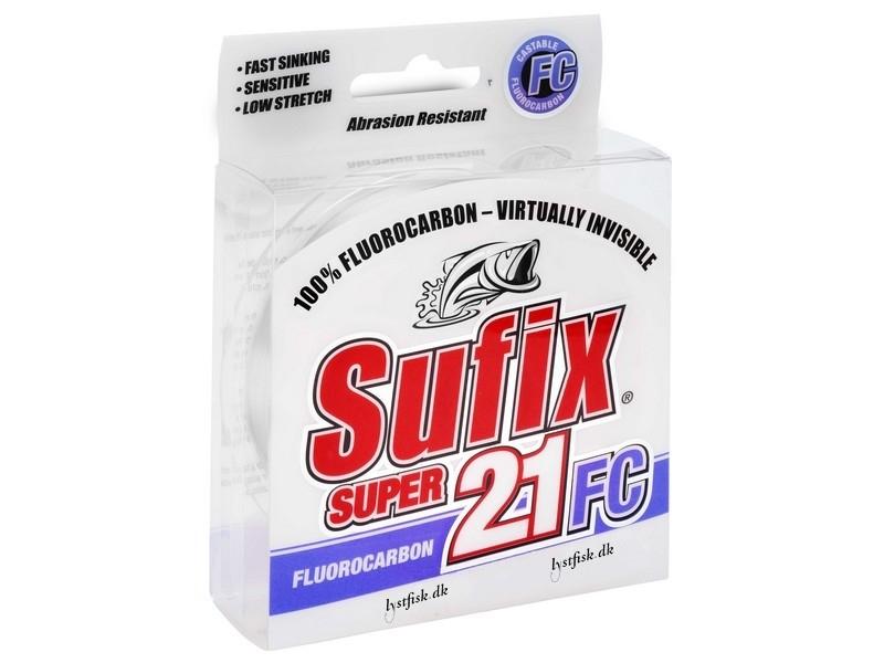 Sufix Super 21 Fluorocarbon - 100/150m - Fluorocarbonliner