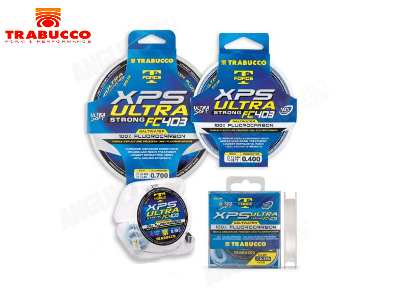 Trabucco XPS Ultra Fluorocarbon Saltwater-0,330mm - Default Category