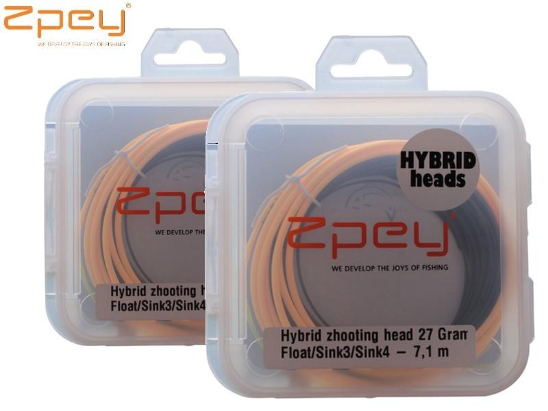 Zpey Hybrid Shooting Head FSS 3-4